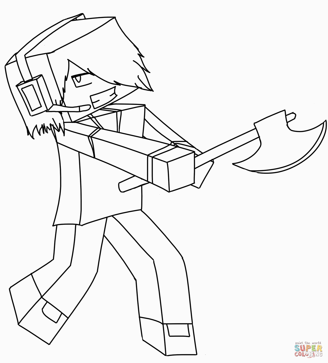 minecraft pictures to print of herobrine creative photo of herobrine coloring pages vicomsinfo herobrine minecraft pictures to of print