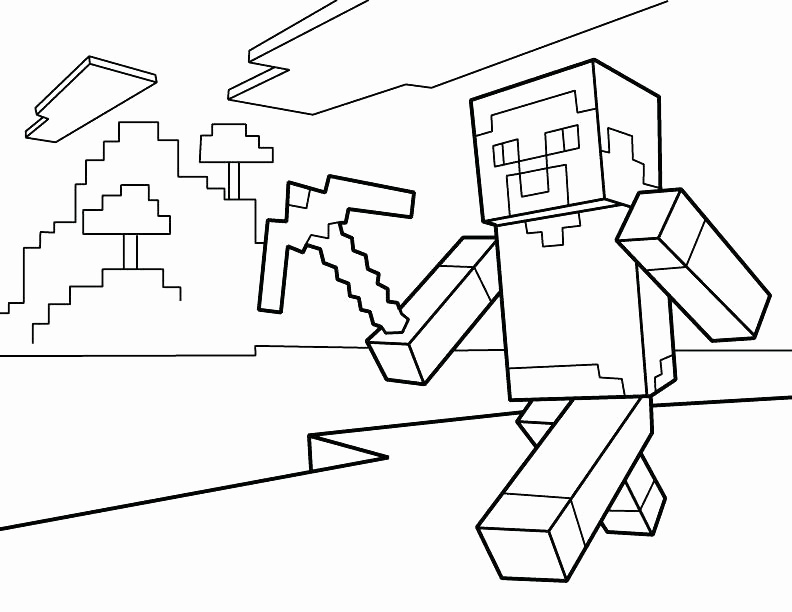 minecraft pictures to print of herobrine herobrine coloring pages at getcoloringscom free minecraft print to of pictures herobrine