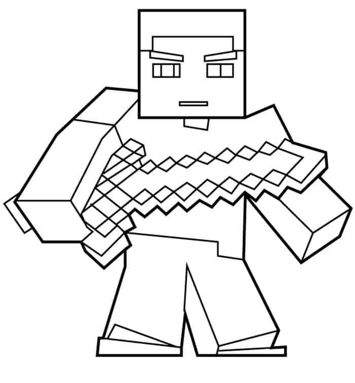 minecraft pictures to print of herobrine minecraft coloring pages herobrine minecraft coloring pages herobrine minecraft print of to pictures
