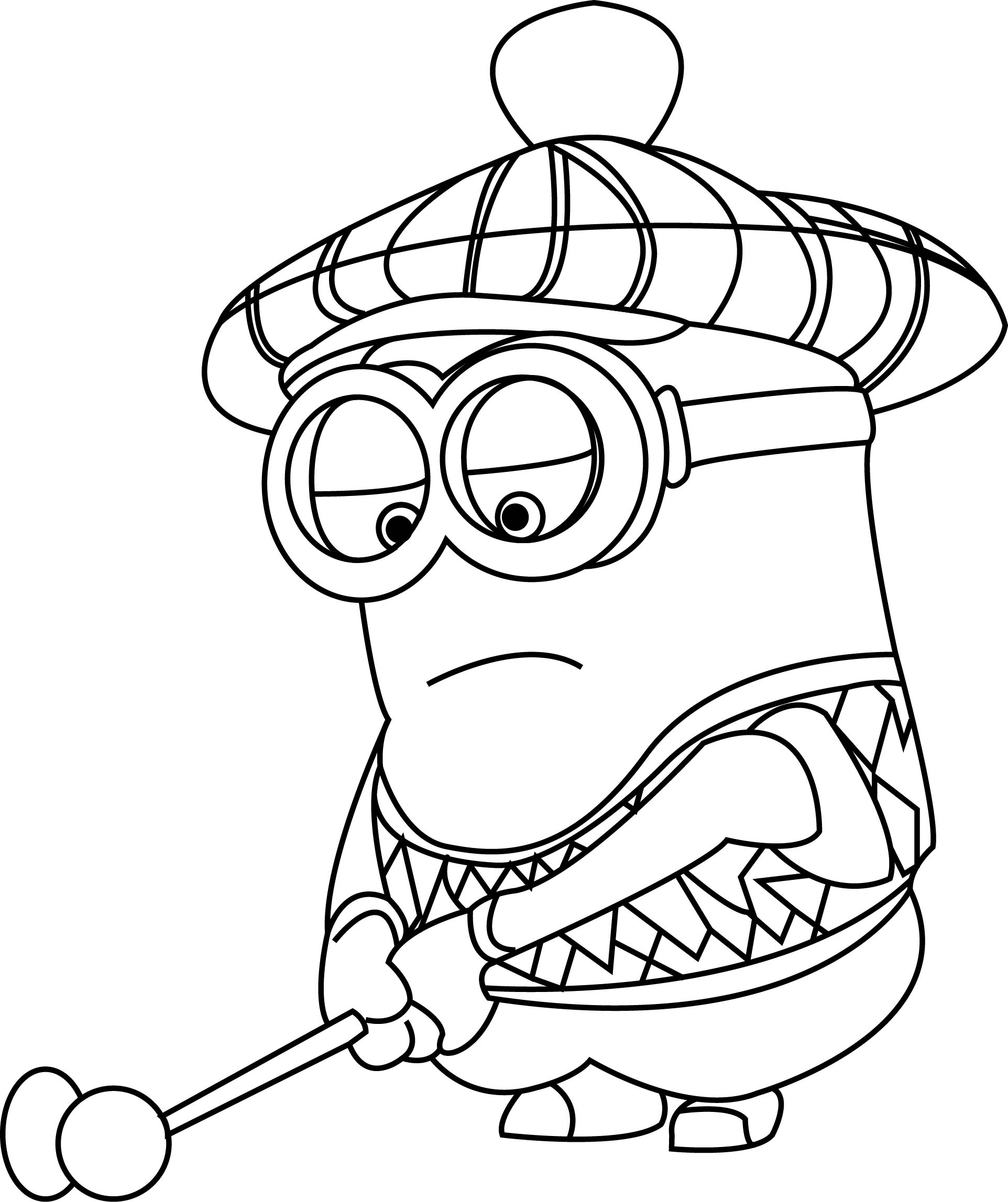 minion colouring page cool minions coloring pages check more at http minion colouring page