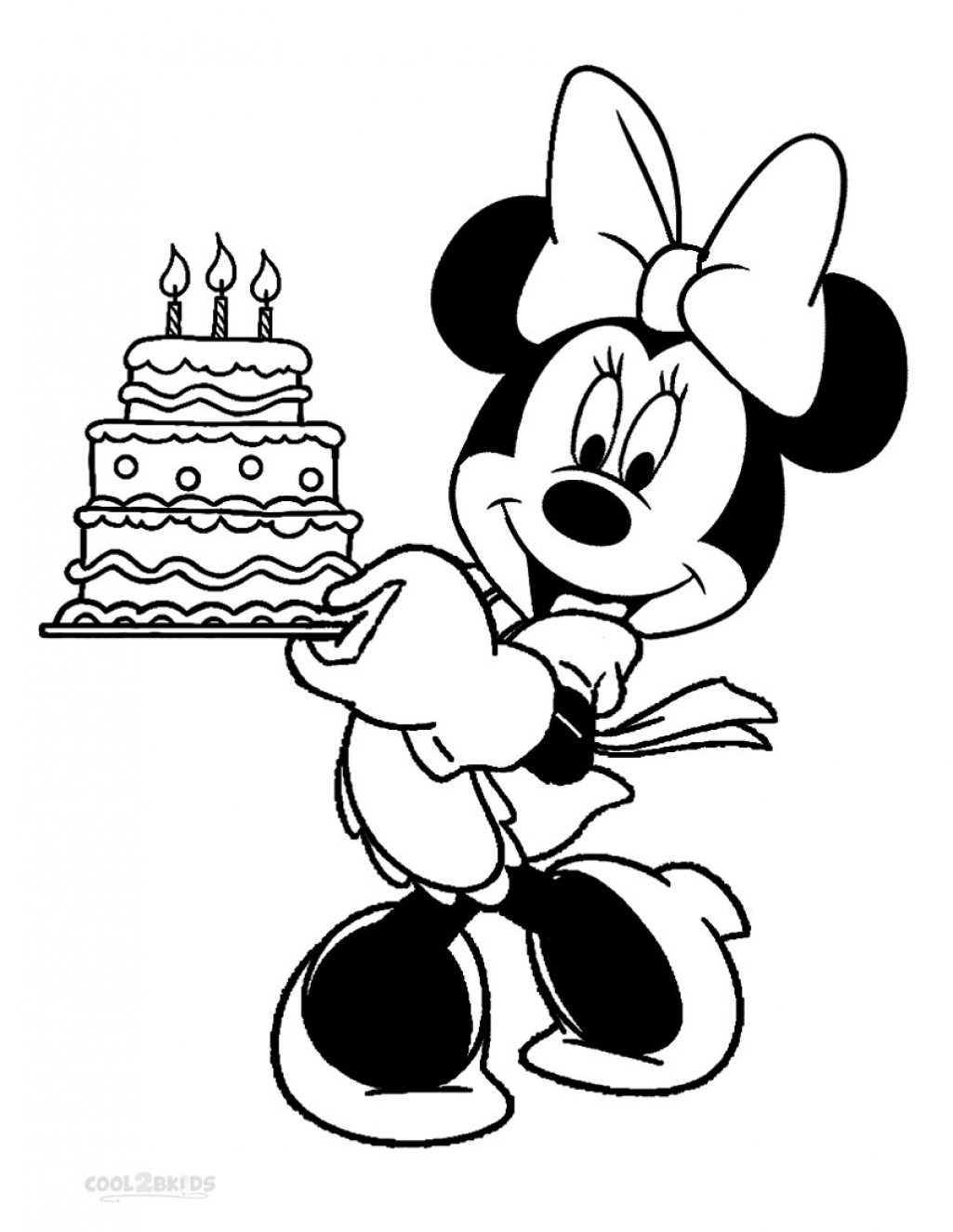 minnie mouse coloring pages birthday minnie mouse birthday cake coloring pages best place to pages coloring birthday mouse minnie