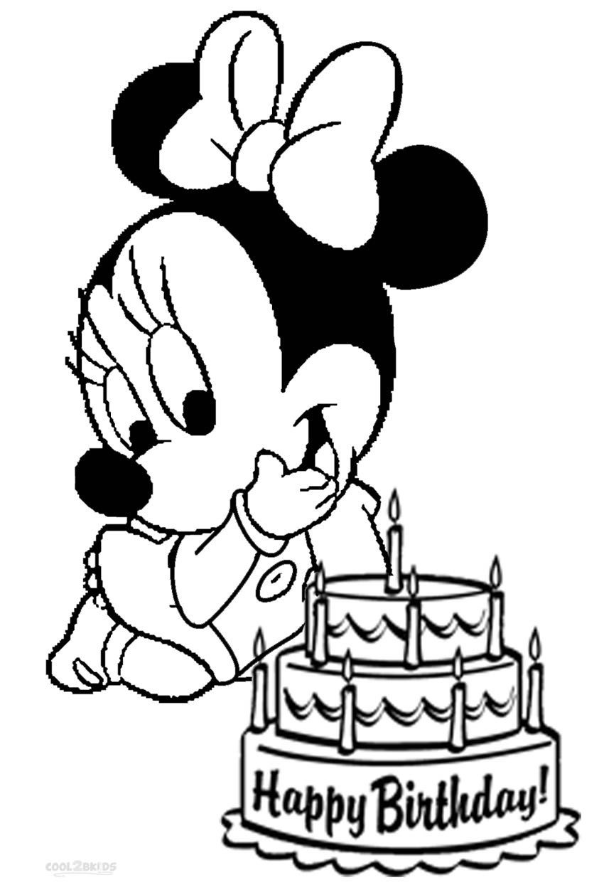 minnie mouse coloring pages birthday minnie mouse birthday party free printables coloring home mouse minnie birthday pages coloring