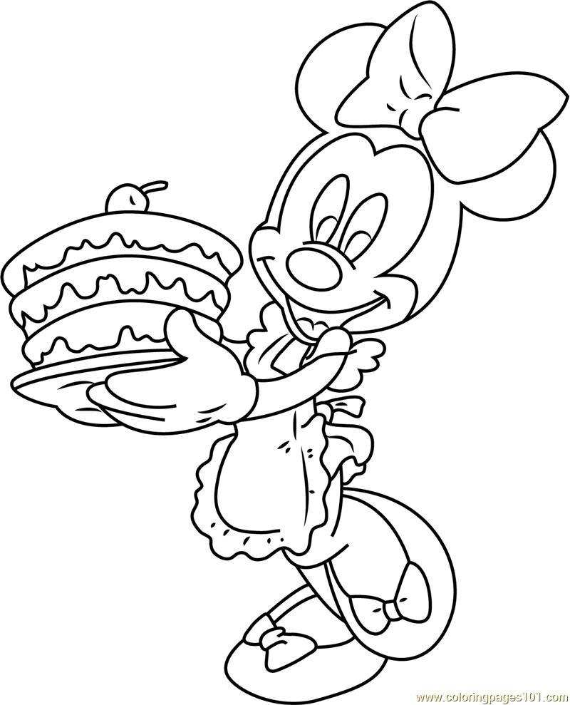 minnie mouse coloring pages birthday minnie mouse birthday pictures free download on clipartmag minnie mouse coloring pages birthday