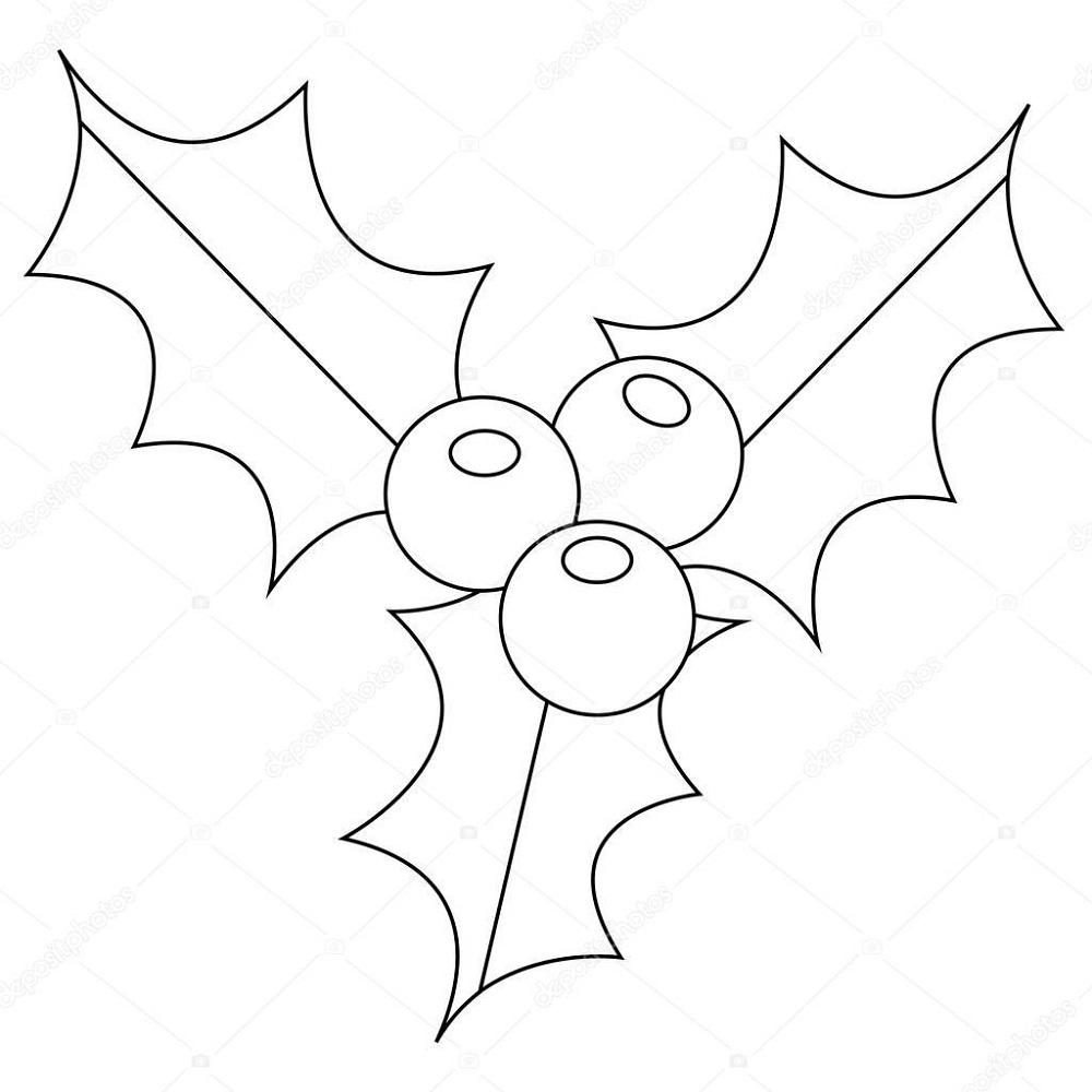 mistletoe coloring pages mistletoe coloring pages best coloring pages for kids mistletoe coloring pages