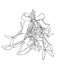 mistletoe coloring pages printable coloring page mistletoe mistletoe drawing pages mistletoe coloring