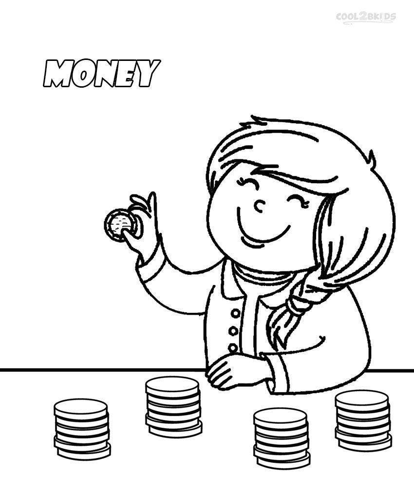 money coloring sheets money coloring page coloring home sheets money coloring