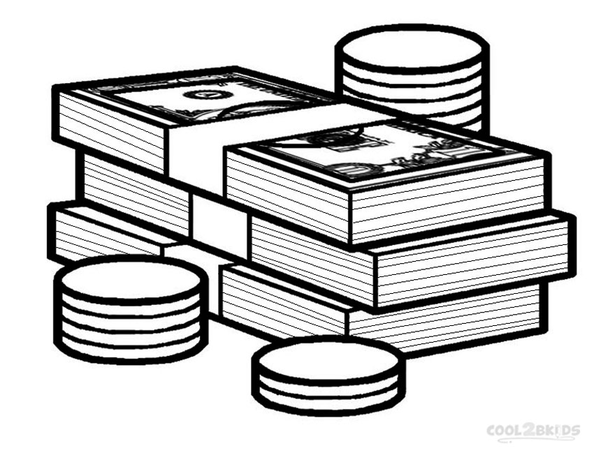 money coloring sheets money coloring pages coloring pages to download and print sheets coloring money
