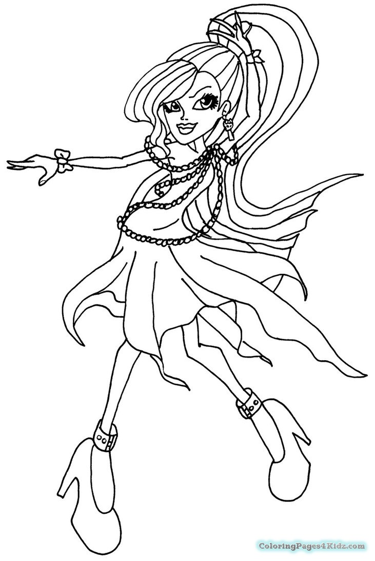 monster high free printable coloring pages 22 inspiration photo of monster high coloring pages pages monster printable coloring high free