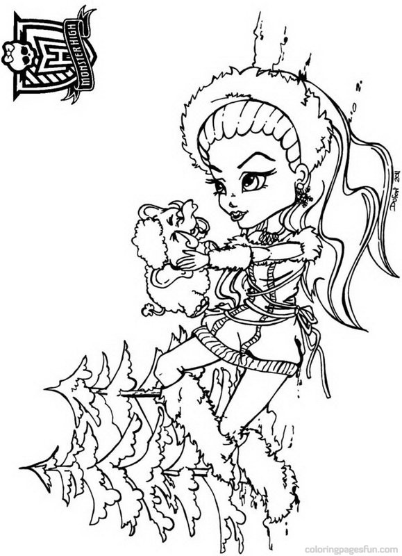 monster high free printable coloring pages monster high coloring pages free download on clipartmag coloring monster printable pages high free