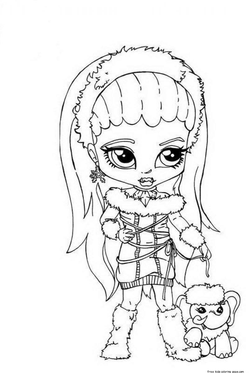 monster high free printable coloring pages monster high coloring pages to print at getcoloringscom monster printable free coloring pages high