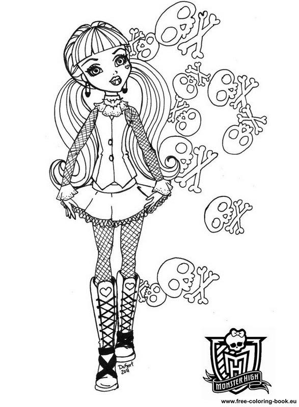monster high free printable coloring pages monster high venus mcflytrap coloring pages coloring printable free coloring pages high monster