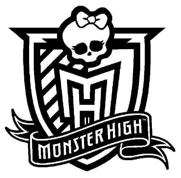 monster high picture kids n funcom coloring page monster high monster high logo picture high monster