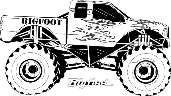monster jam pictures to color monster jam coloring pages for kids color luna monster to color jam pictures