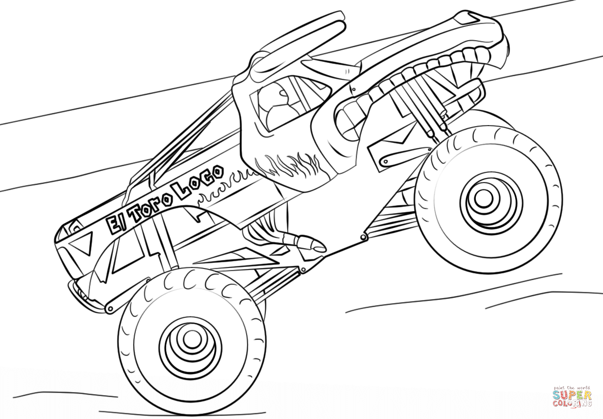 monster jam pictures to color monster jam coloring pages gallery whitesbelfast jam to monster color pictures