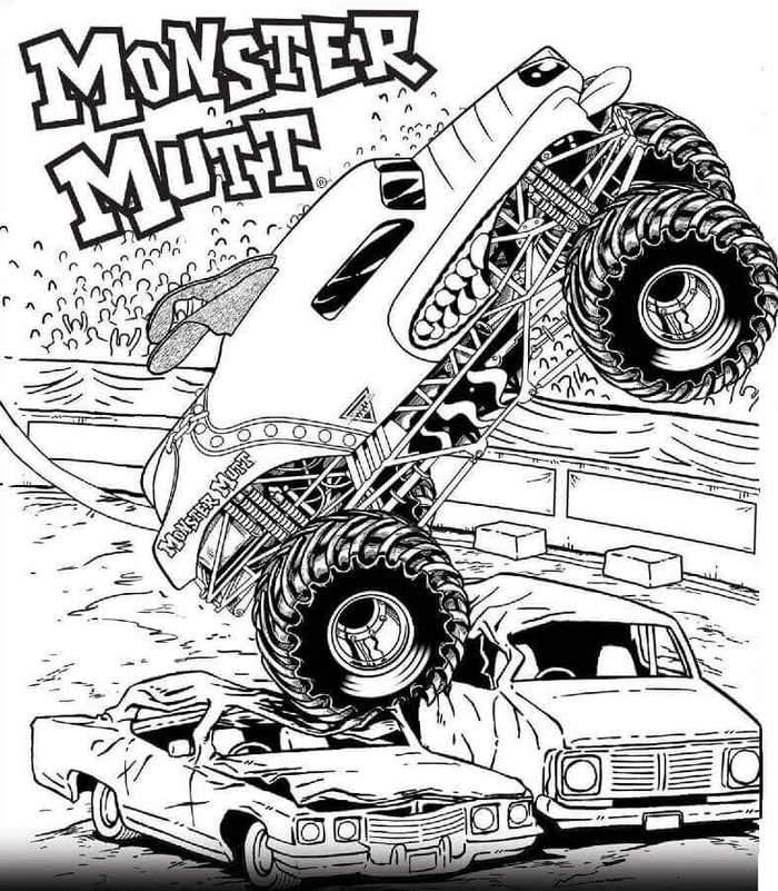 monster jam pictures to color monster jam jumping horned truck coloring pages color luna to monster jam pictures color