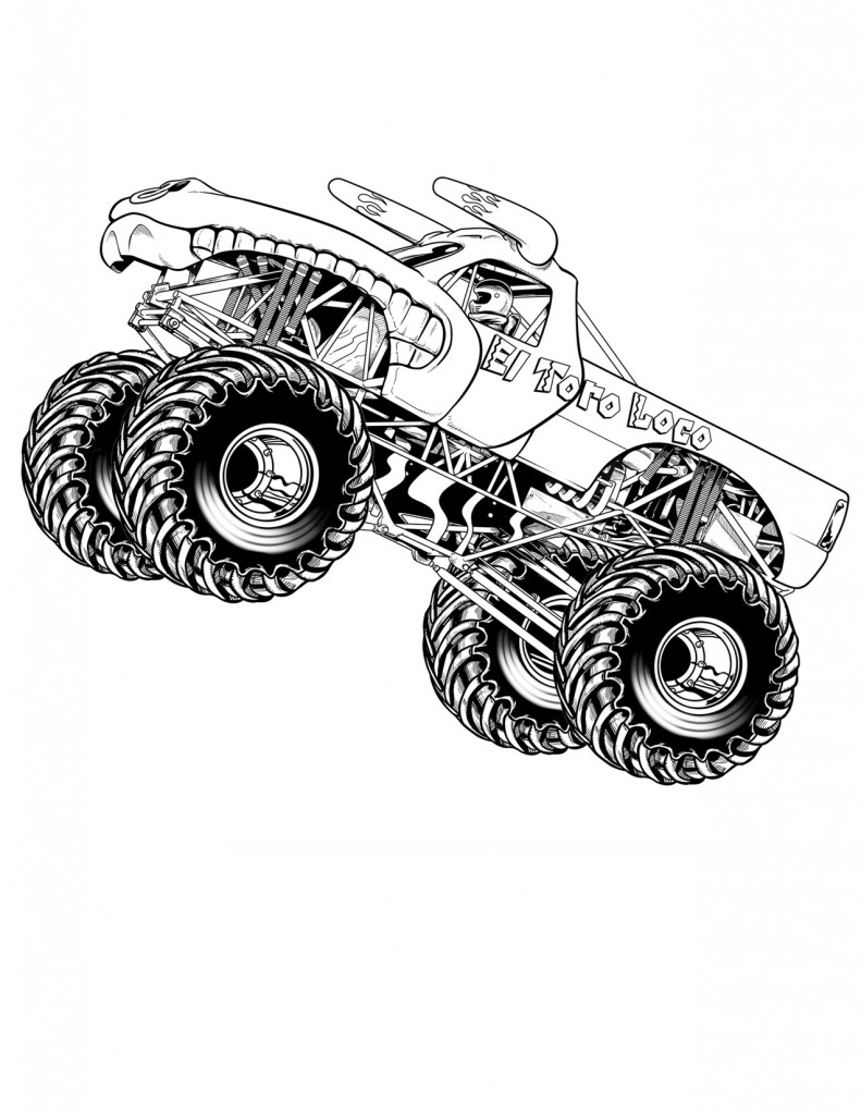 monster truck coloring page free easy to print monster truck coloring pages tulamama page truck monster coloring