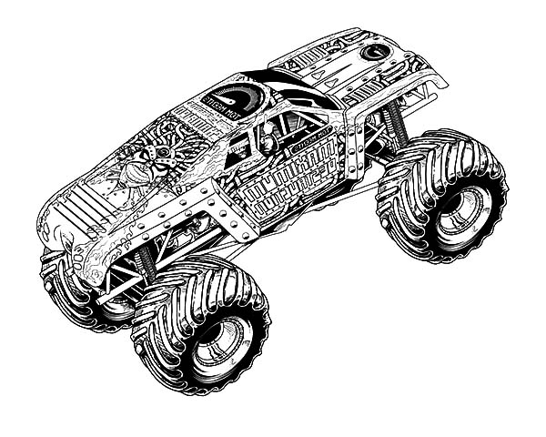 monster truck coloring page monster truck coloring pages for boys free coloring pages page monster truck coloring