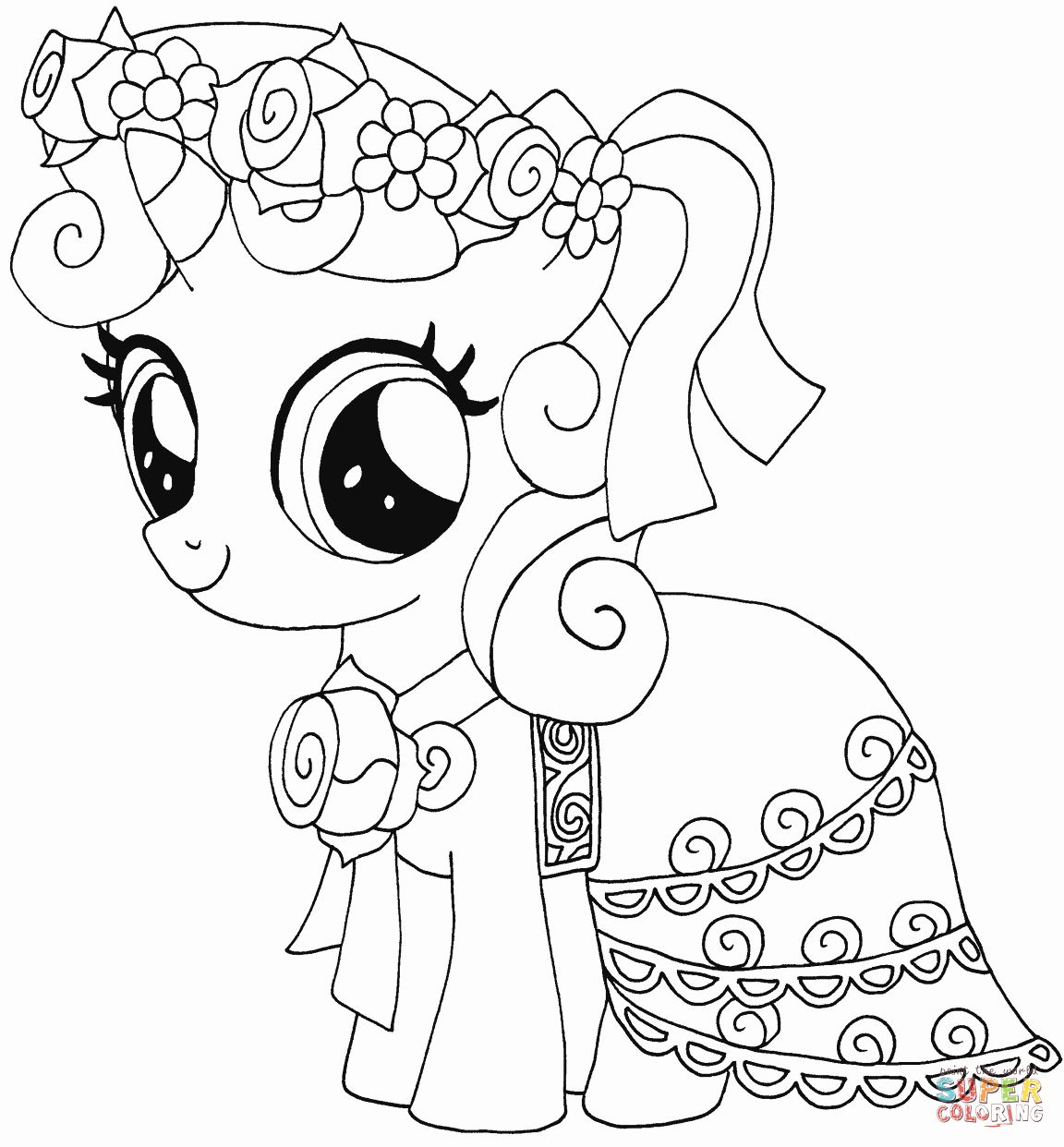 my little pony drawings coloring free printable my little pony coloring pages for kids coloring pony little my drawings