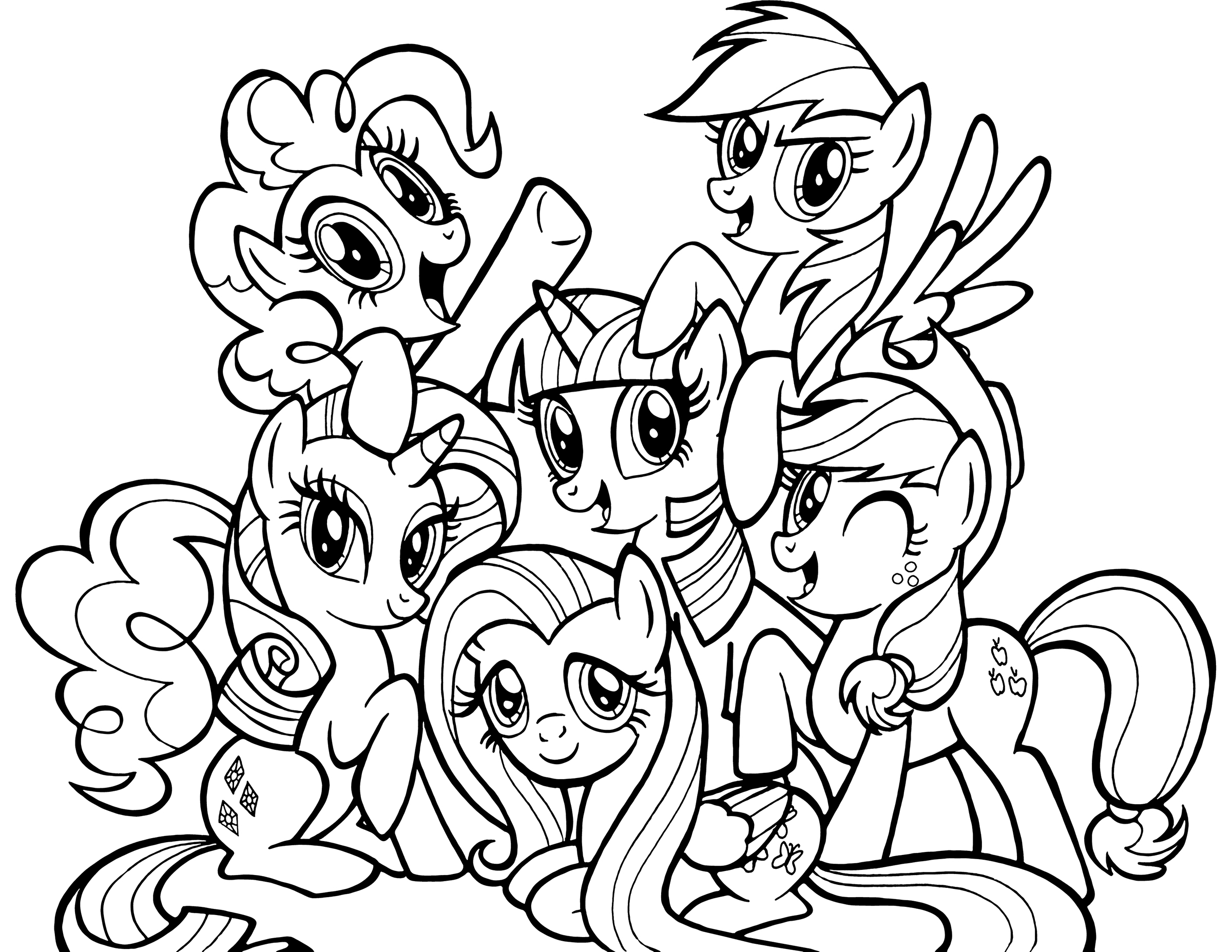 my little pony drawings coloring my little pony drawing template at paintingvalleycom little my drawings pony coloring
