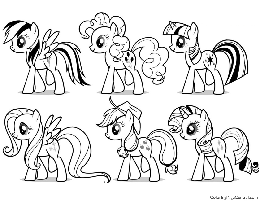 my little pony friendship is magic printable coloring pages mane goodall coloring page free my little pony pages my friendship pony little magic is printable coloring