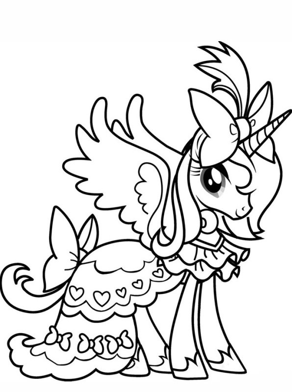 my little pony princess pictures kids n fun kleurplaat prinses celestia my little pony little my princess pictures pony