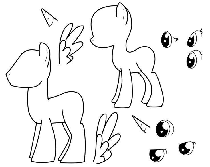 my little pony template my little pony drawing template at getdrawings free download my little template pony