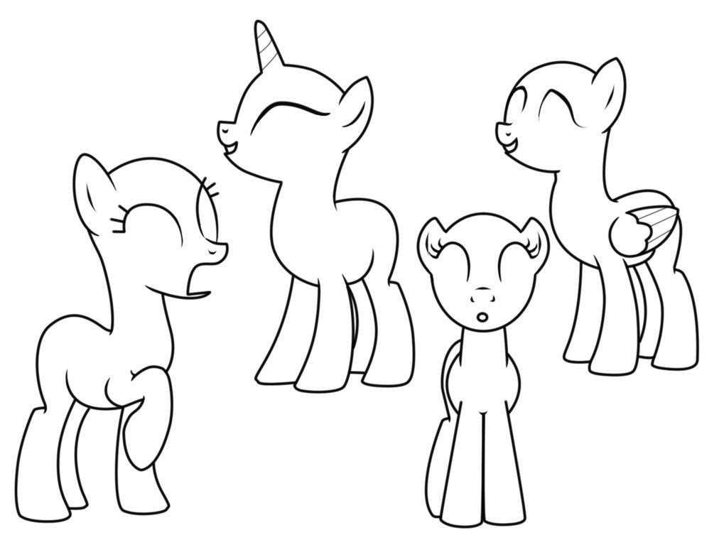 my little pony template mylittleponymalefillybodyblanktemplatespreadjpg pony template little my