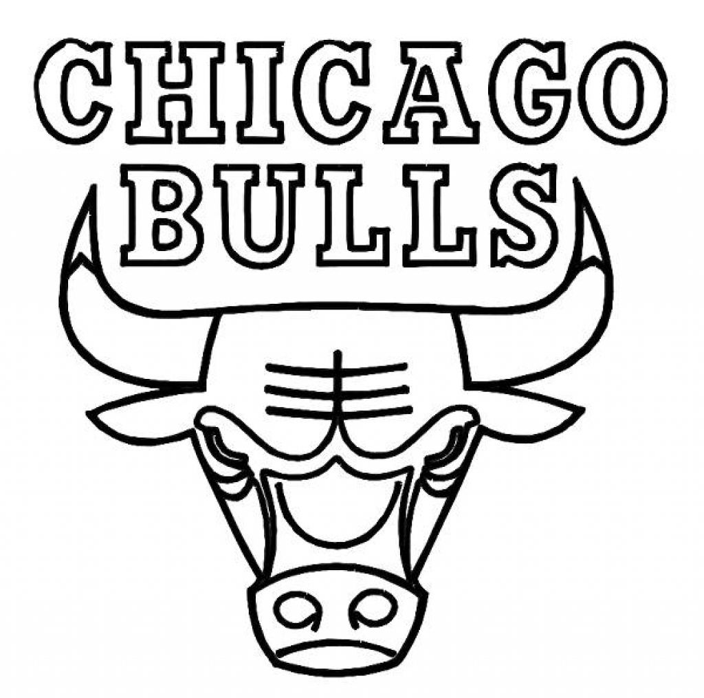 nba logos coloring pages chicago bulls printable coloring pages at getcoloringscom nba pages logos coloring