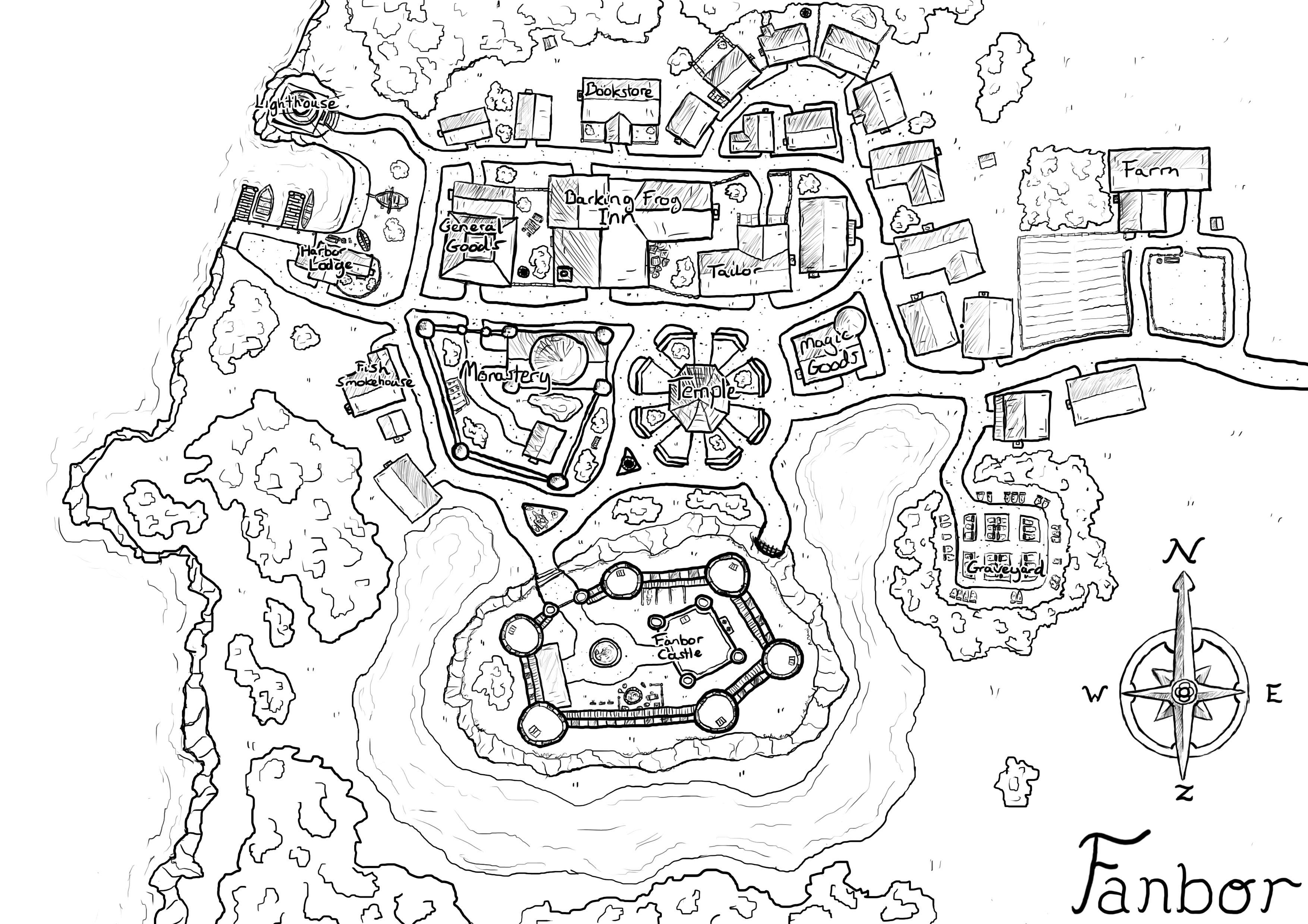 neighborhood map coloring page here39s a simple neighborhood map coloring page grammar neighborhood coloring page map