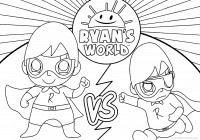 nickelodeon ryan coloring pages coloring and drawing ryan combo panda coloring pages pages ryan nickelodeon coloring