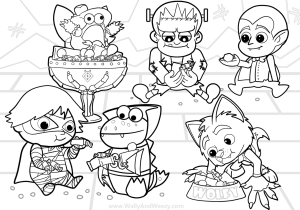 nickelodeon ryan coloring pages coloring and drawing ryan world combo panda coloring pages coloring ryan nickelodeon pages