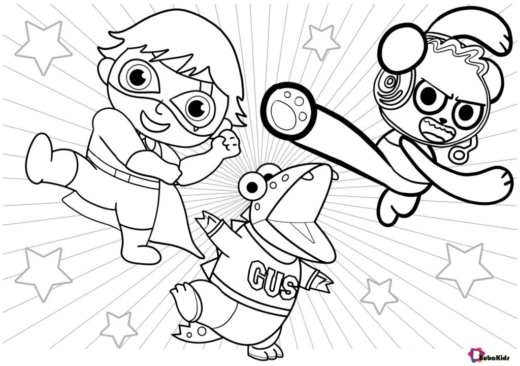 nickelodeon ryan coloring pages ryans mystery playdate coloring pages printable nickelodeon pages ryan coloring