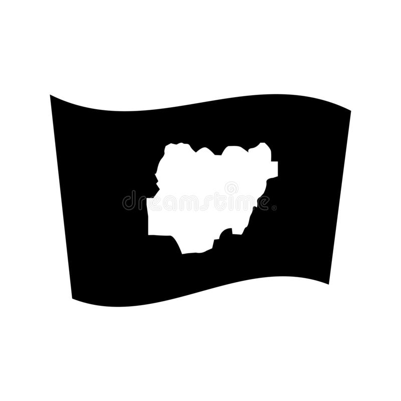 nigeria flag template soccer pennant icon stock illustration illustration of template nigeria flag
