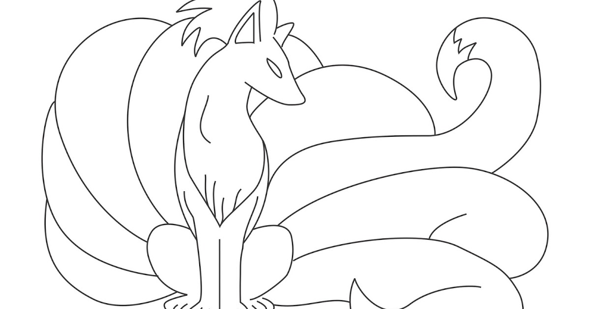 ninetails pokemon coloring pages learn how to draw alola ninetales from pokemon sun and pages ninetails pokemon coloring