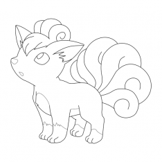 ninetails pokemon coloring pages ninetails pokemon coloring pages pages ninetails pokemon coloring
