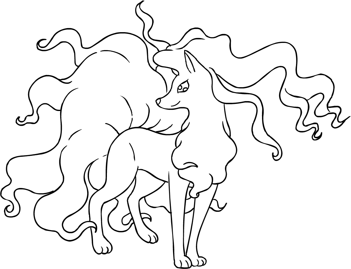 ninetails pokemon coloring pages ninetales pokemon coloring pages coloring pages ninetails coloring pages pokemon