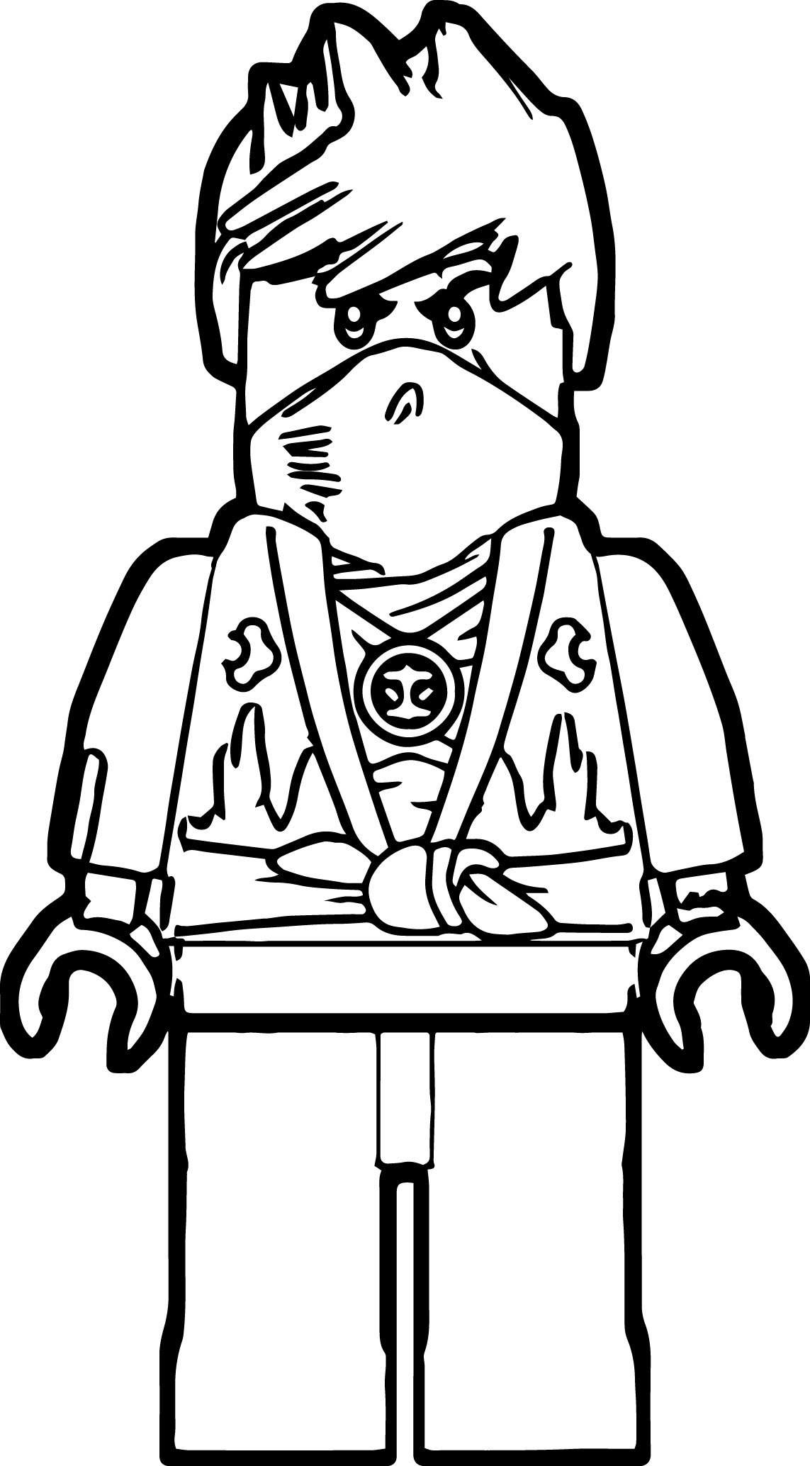 ninja go coloring ninjago coloring pages golden ninja at getdrawings free ninja go coloring