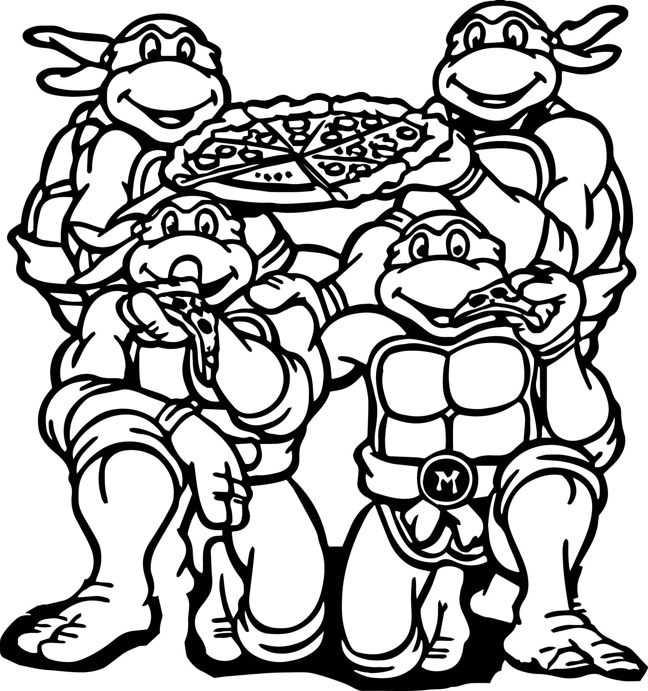 ninja turtle coloring teenage mutant ninja turtles coloring pages best coloring ninja turtle