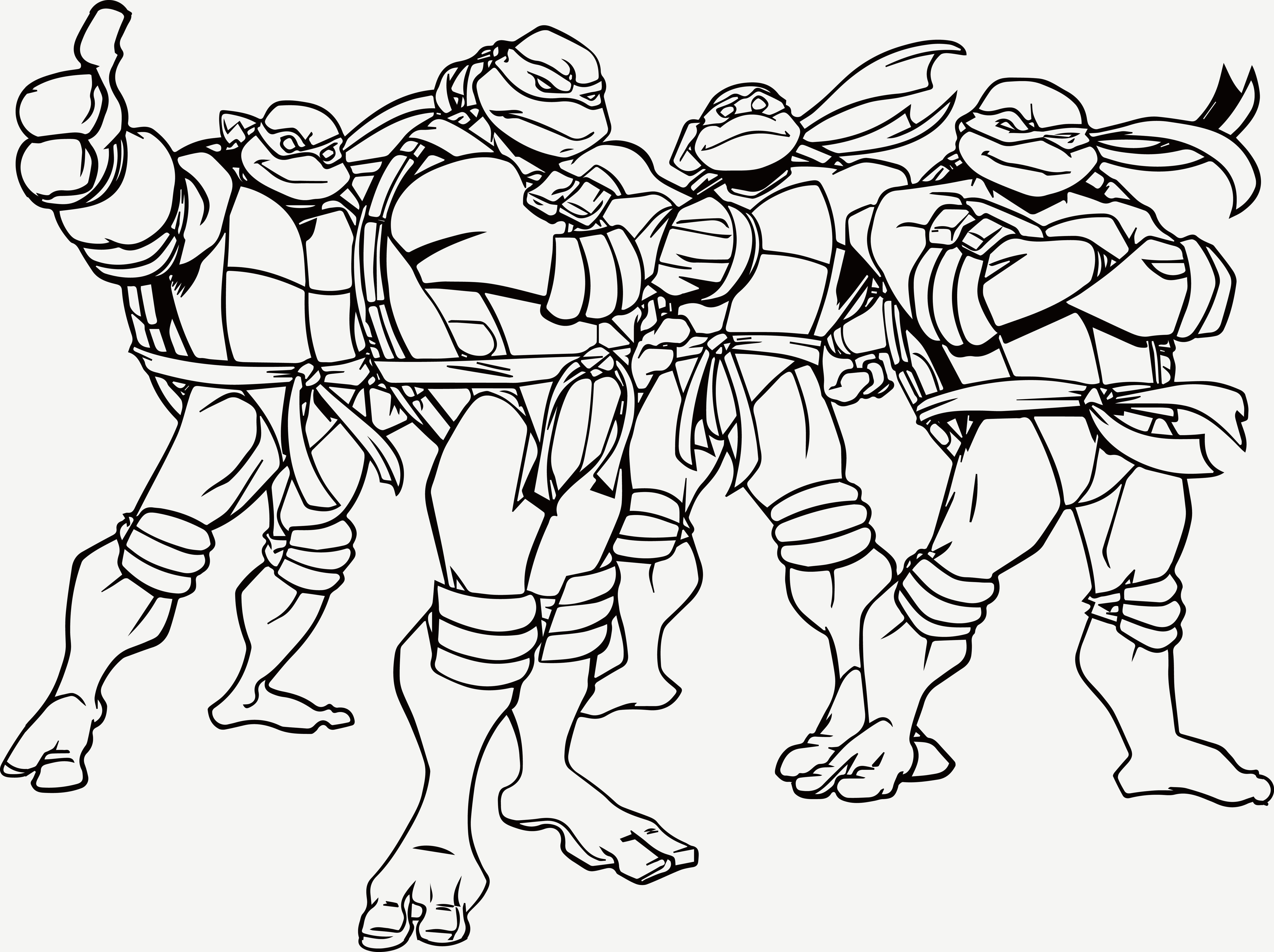 ninja turtles colouring pictures to print 5 best images of happy birthday ninja turtle coloring page to ninja turtles print pictures colouring