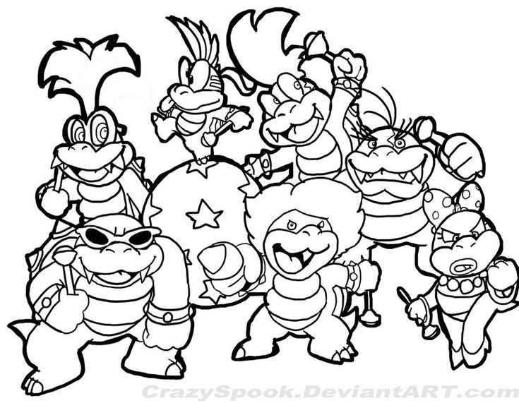 nintendo characters coloring pages nintendo characters coloring pages at getcoloringscom pages nintendo coloring characters