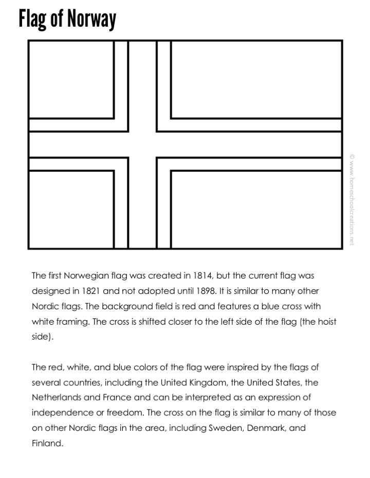 norway flag coloring page clip art flags norway coloring page abcteach page coloring norway flag