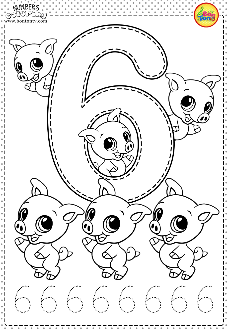 number 6 coloring pages easy abc coloring sheet free alphabet printables number pages 6 coloring