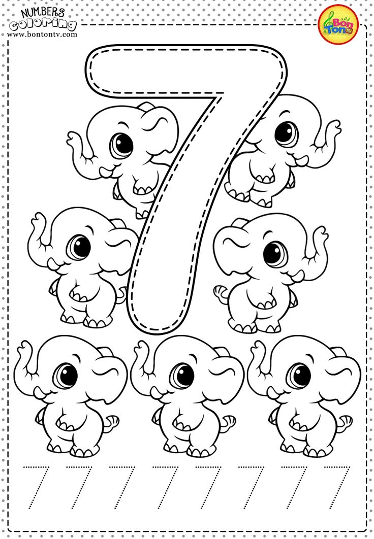 number 7 coloring pages for preschoolers 16 best images of pre k worksheets number 7 printable preschoolers 7 number for pages coloring