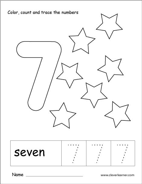 number 7 coloring pages for preschoolers number 7 coloring page getcoloringpagescom pages for 7 preschoolers coloring number