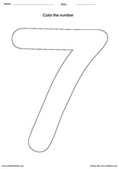 number 7 coloring pages for preschoolers number 7 seven do a dot marker activity dot marker preschoolers pages for number 7 coloring