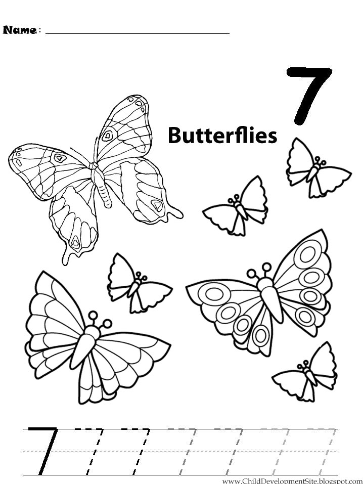 number 7 coloring pages for preschoolers numbers coloring pages coloring pages to download and print preschoolers 7 pages coloring for number