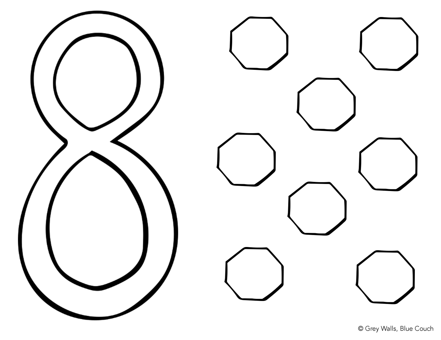 number 8 coloring pages number 8 coloring page free download on clipartmag 8 number coloring pages