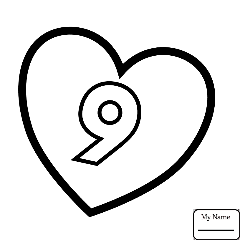 number 8 coloring pages number 8 coloring page getcoloringpagescom 8 coloring pages number
