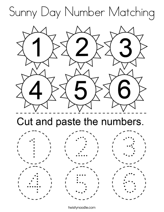 number matching coloring pages counting uppppppp coloring pages learny kids coloring pages matching number