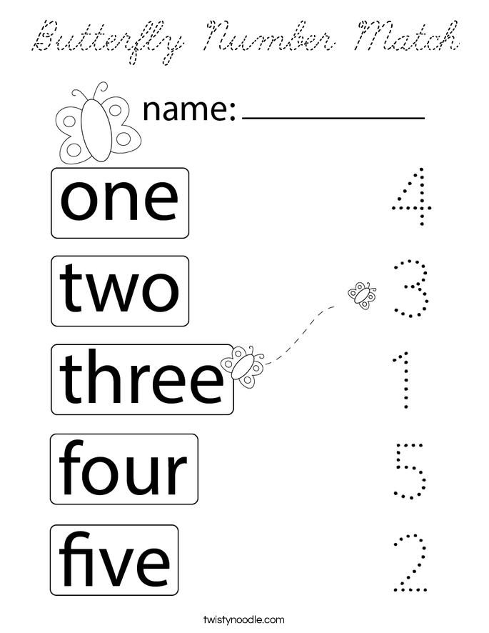 number matching coloring pages match the numbers and words coloring pages pages number coloring matching